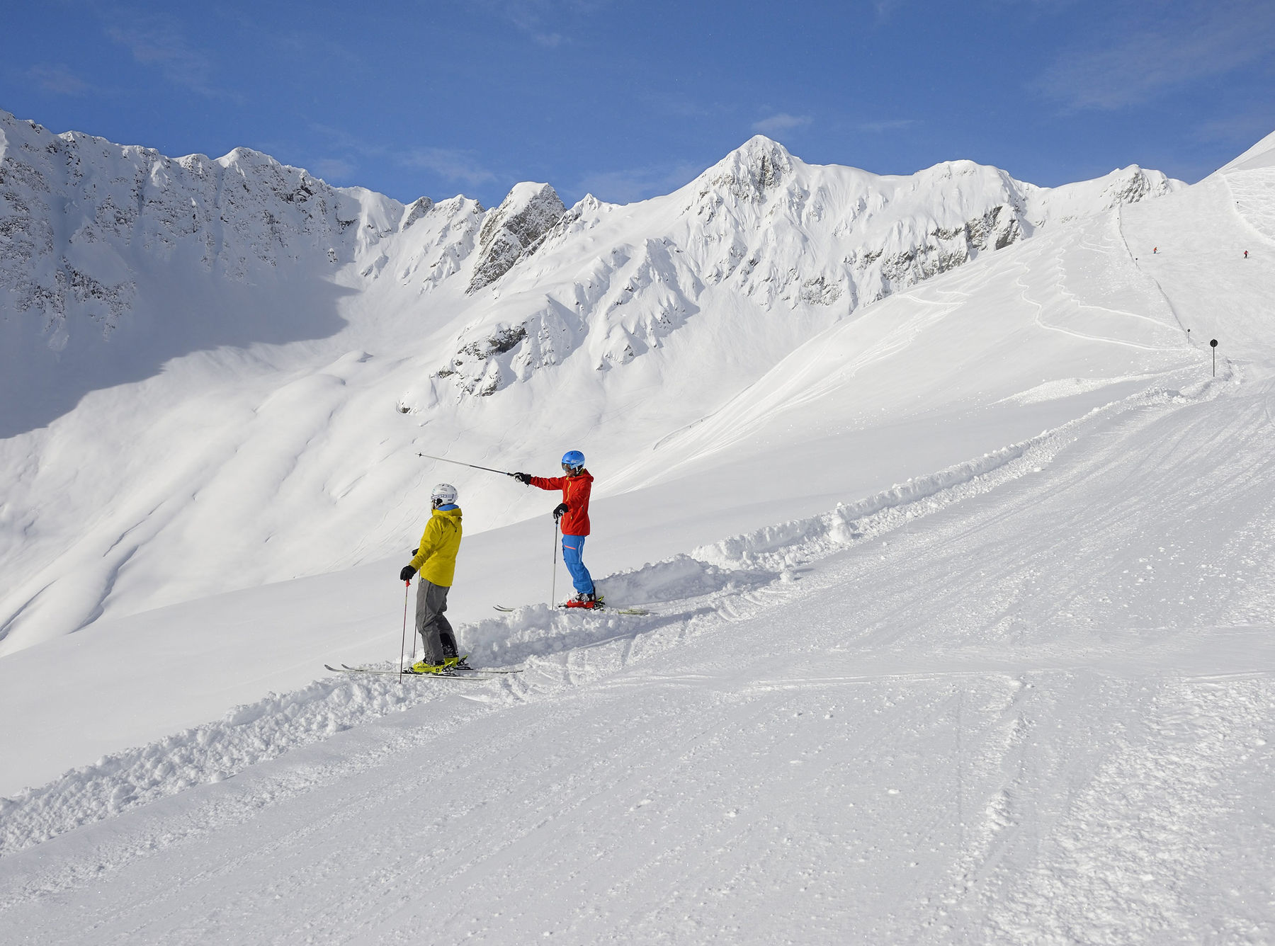 The holiday resort for families & active holidaymakers Skiing in Kappl